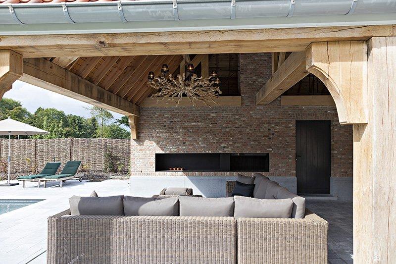 Terrasoverkapping ontworpen door b+villas