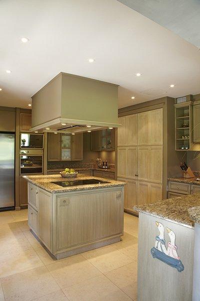 Klassieke keuken ontworpen door b+villas