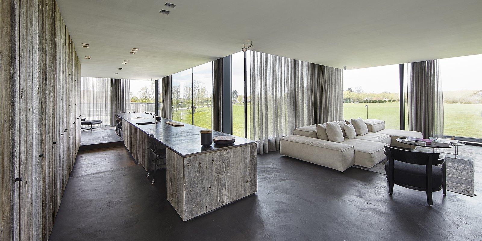 Villa opent als een bloem the art of living be - Kubieke villa ...