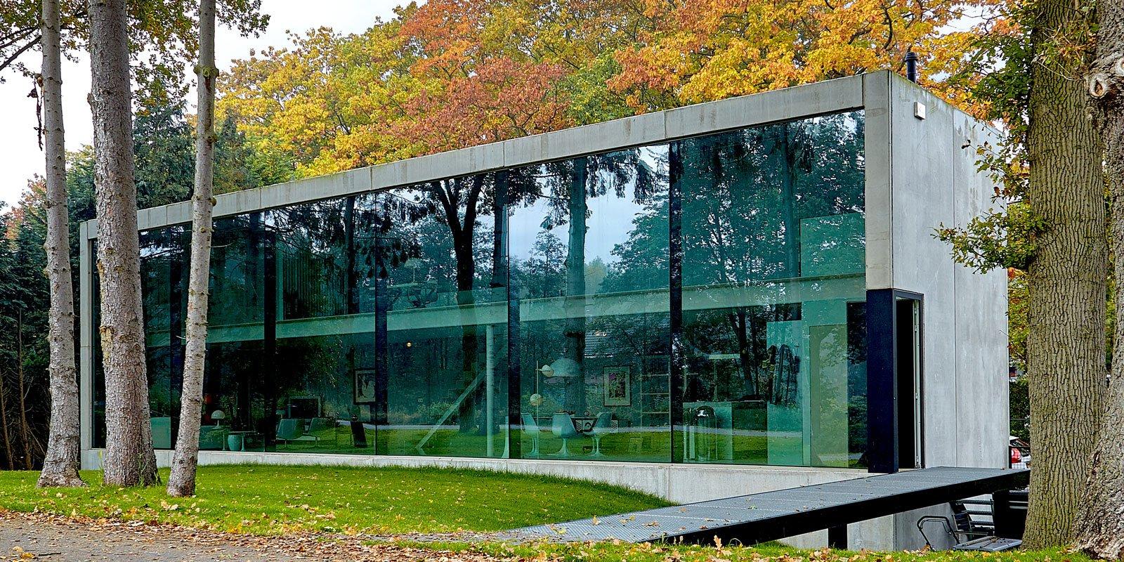 Futuristische villa