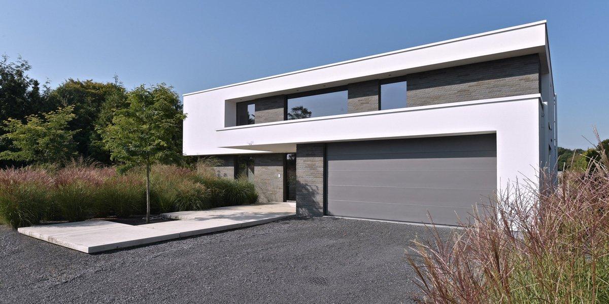 Moderne villa schellen architecten the art of living be for Architecten moderne stijl