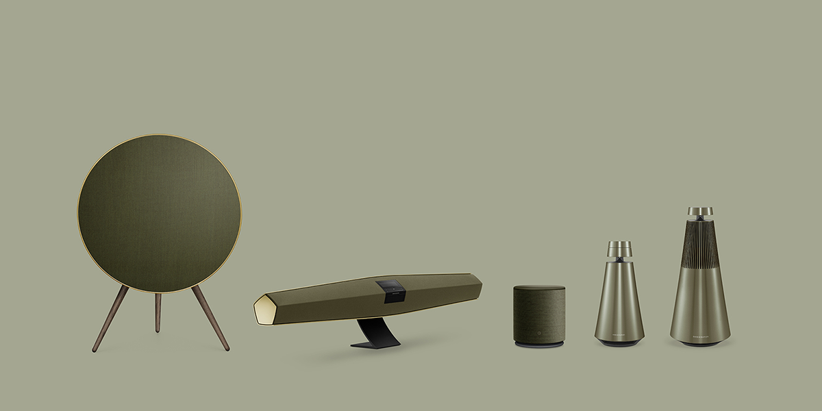 Bang & Olufsen | Harmonies Family | Proportional aligned products