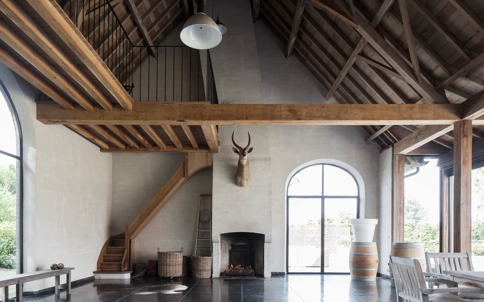 Natuurlijke Zolder Loft : Verbouwing jelle vandecasteele the art of living be