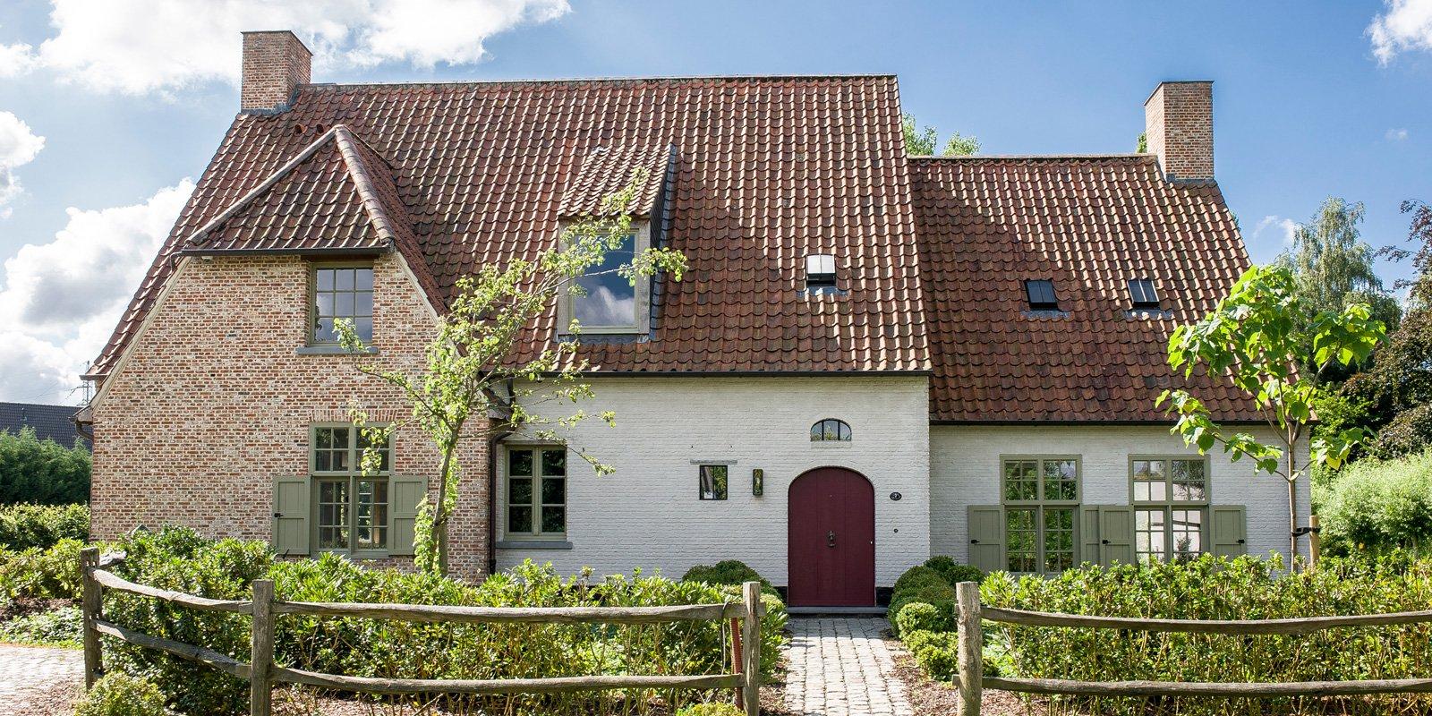 Oase van groen pieter vlassak the art of living be for Architect landelijk