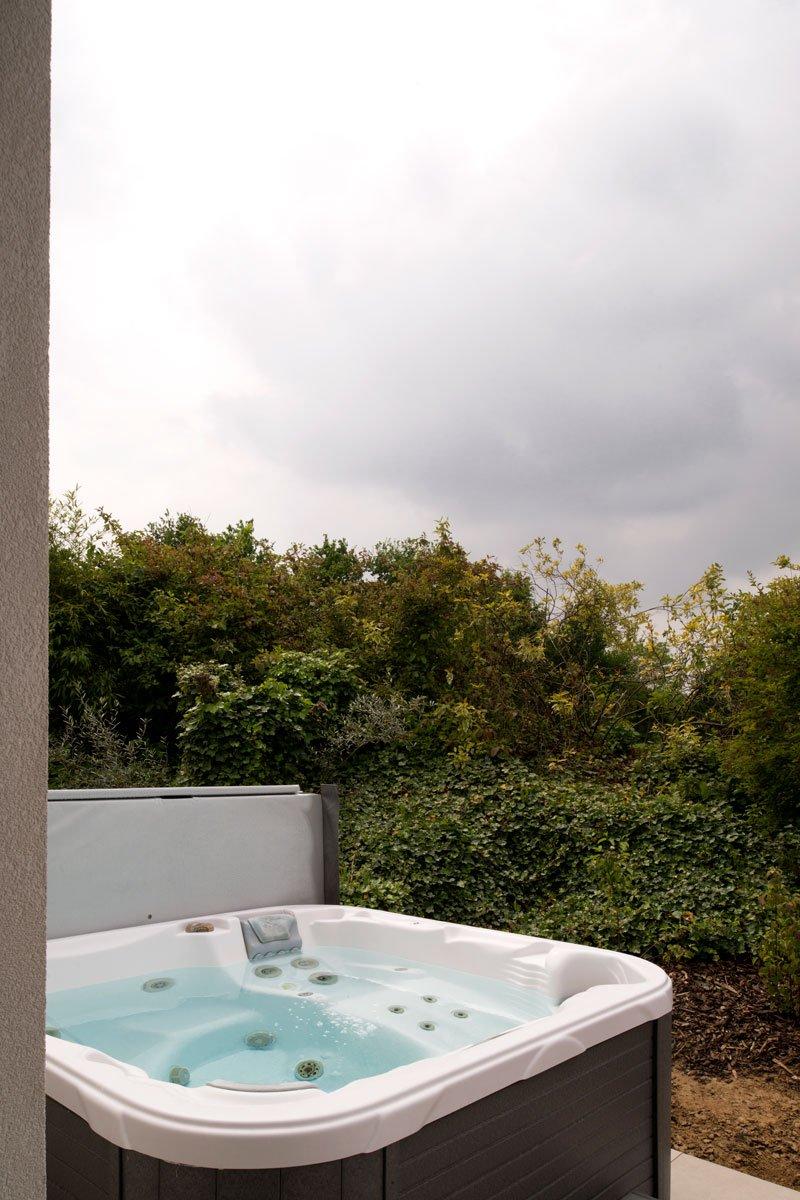 Ontspannen in de jacuzzi op het terras, Zelfvoorzienend, BNE Architecten