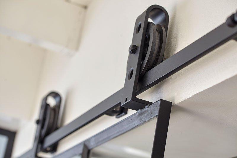 Ingenieuze ophang, staal, systeem, deur, Stalen Deuren Huys, Kijkwoning