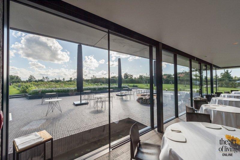Restaurant Hertog Jan, aluminium en glas Sky Frame, FMP Plus