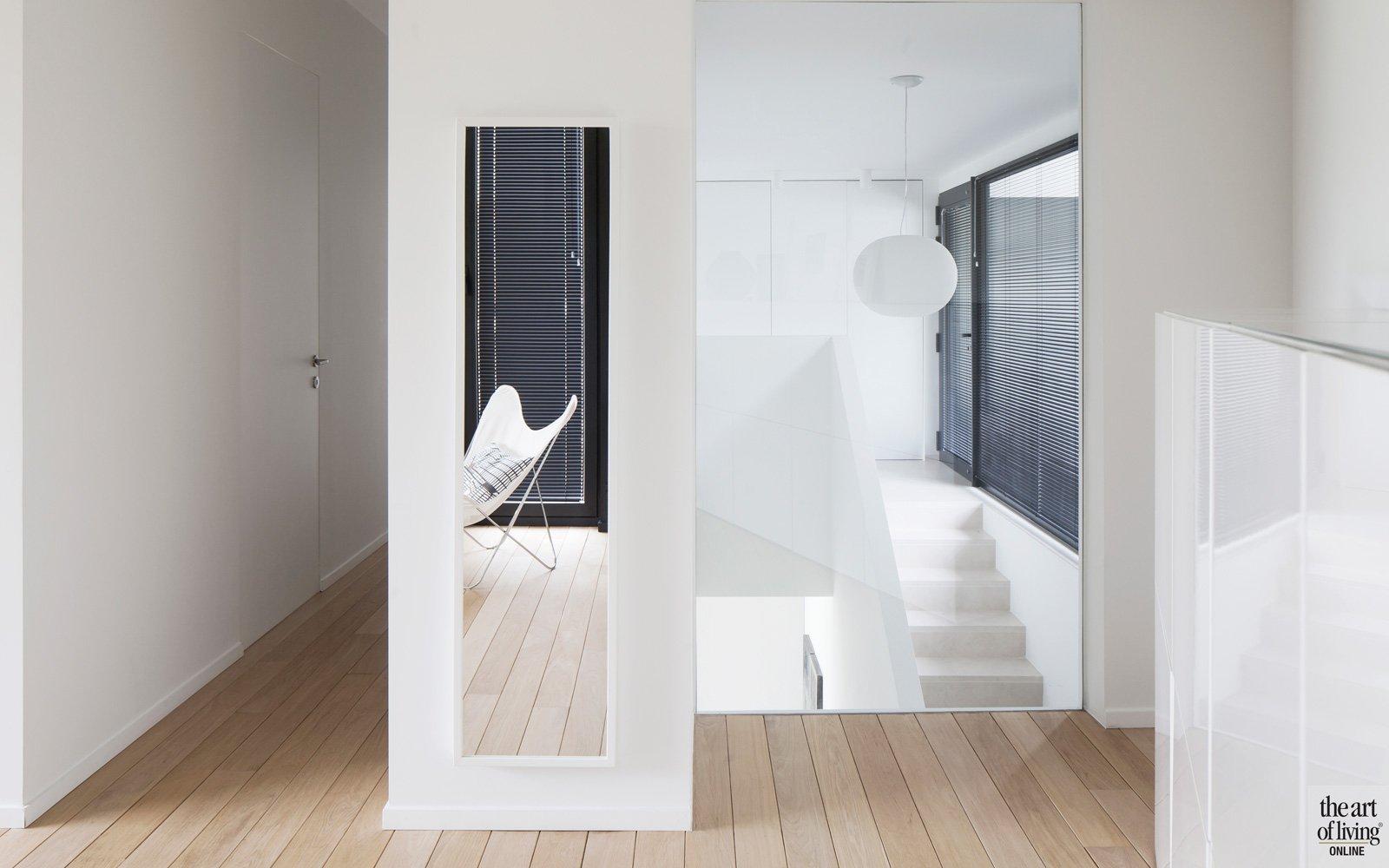 Compacte woning, Hervé vanden Haute, screens van Renson