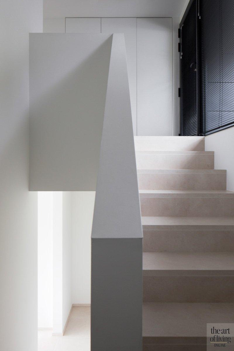 Minimalistisch, Wit, Trap, strak en wit, Hervé vanden Haute