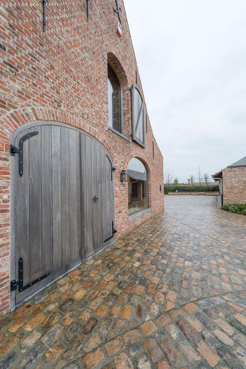 Grote schuurdeur, houten deur, herenhoeve, Bernard de Clerck