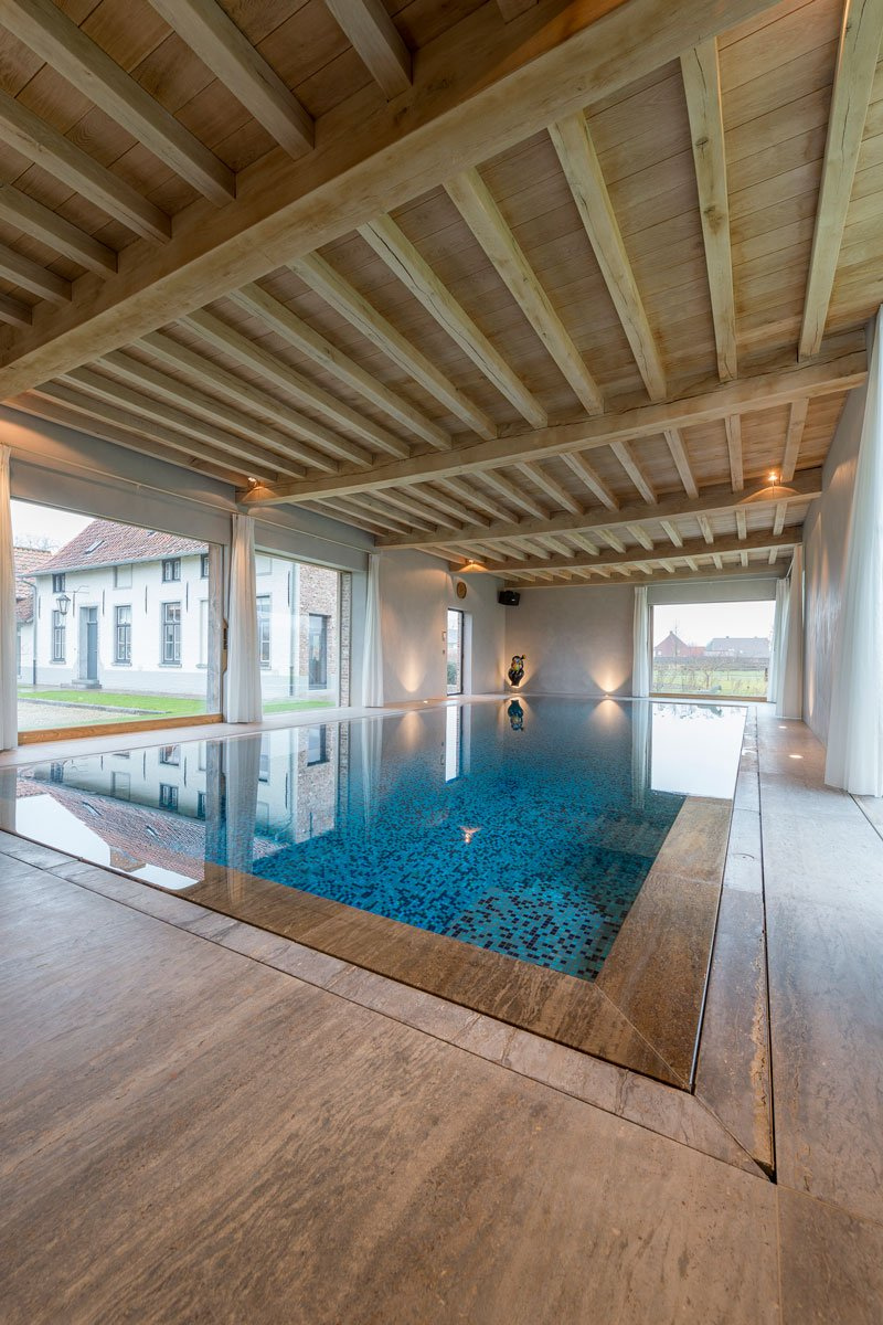 Zwembad, Otec Pools, Spa, wellness, Herenhoeve, Bernard de Clerck