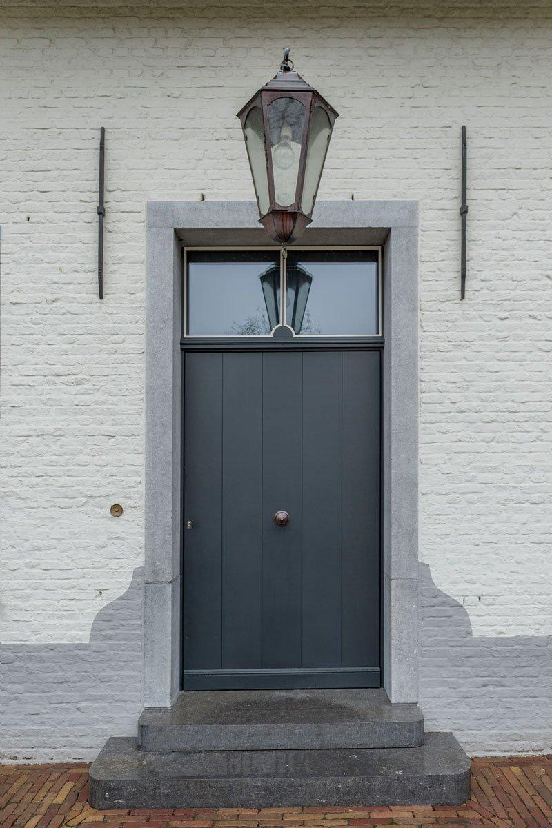 Entree, voordeur, herenhoeve, Bernard de Clerck