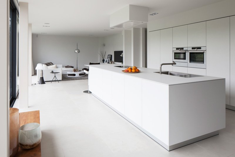Herve vanden Hautte Architecte, modern, minimalistisch, villa, strak, wit, libanees, oosters design, interieur,