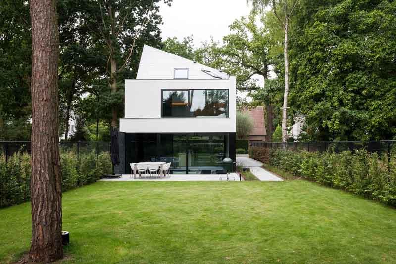 Halfopen woning | icoon.be architecten