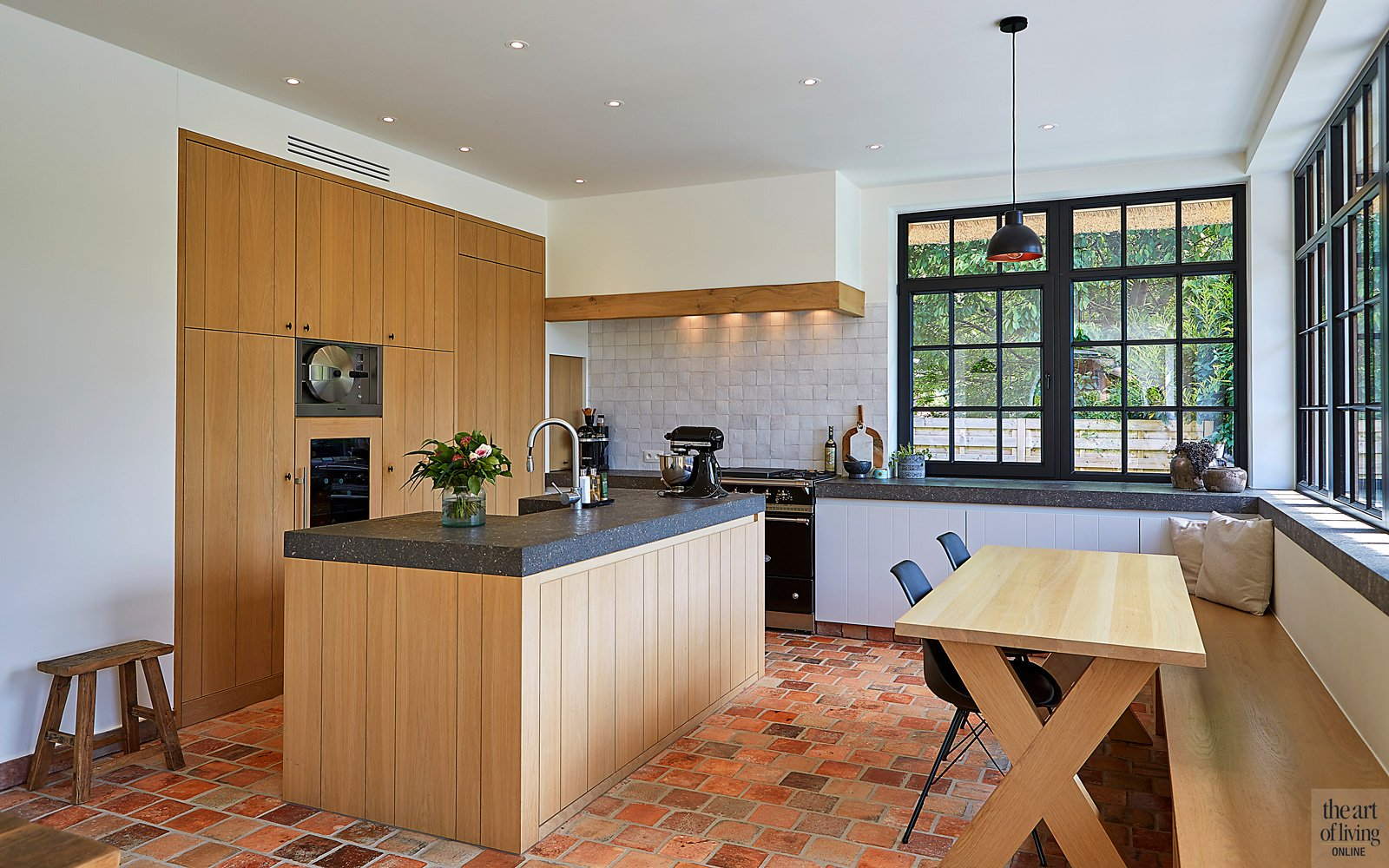 Houten keuken, maatwerk, Frank Tach Keukens
