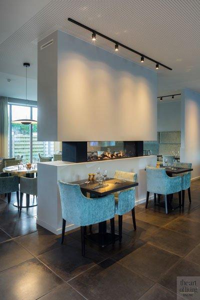 Gashaard van Heybrinck, sfeervol, ambiance, open haard, Restaurant Chaflo & Co, Bouw-iD