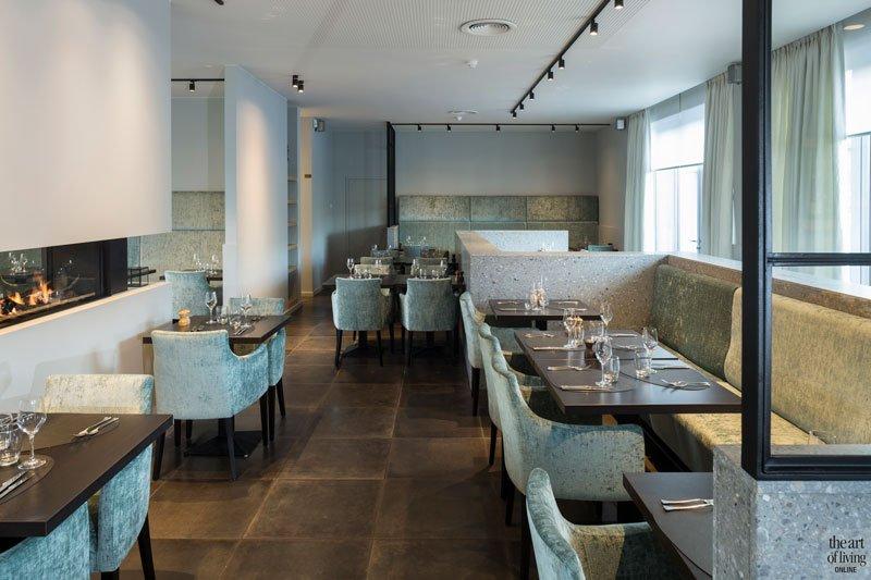 Keramische tegels, gashaard van Heybricnk, Restaurant Chaflo & Co, Bouw-iD