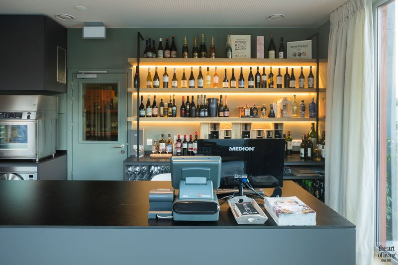 Wijnboetiek, wijnbar, Restaurant Chaflo & Co, Bouw-iD