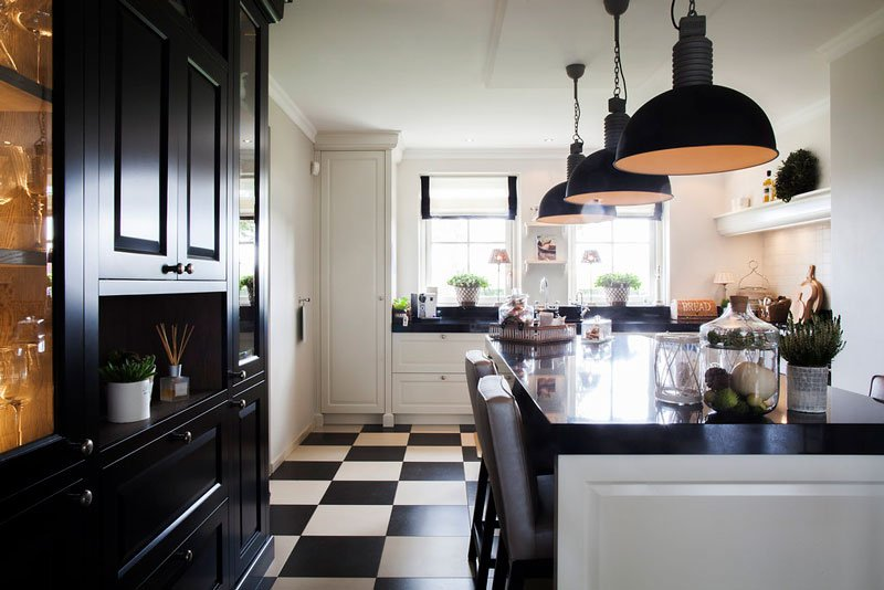 Dauby, deurbeslag, klassieke keuken