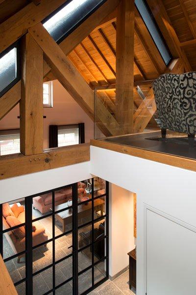 Ruimtelijk, aluminium kozijnen, Van Iersel Kozijnen, glazen deur, modern gastenverblijf, VVR Architecten