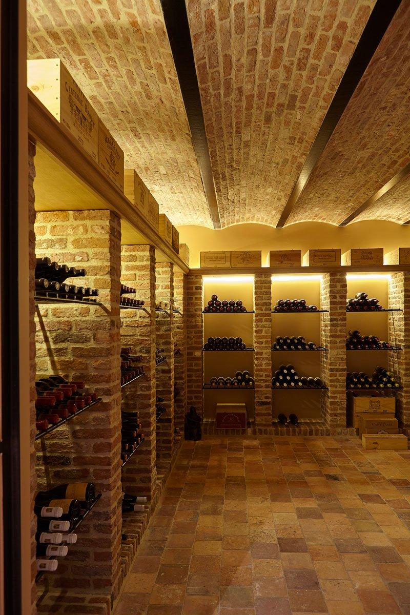 Wijnkelder, Vandaele Construct NV, kelder, Engelse cottage, Bart François