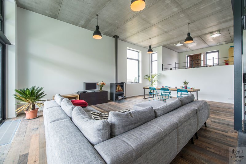 Industri le woning bvv architecten the art of living be for Industriele stijl