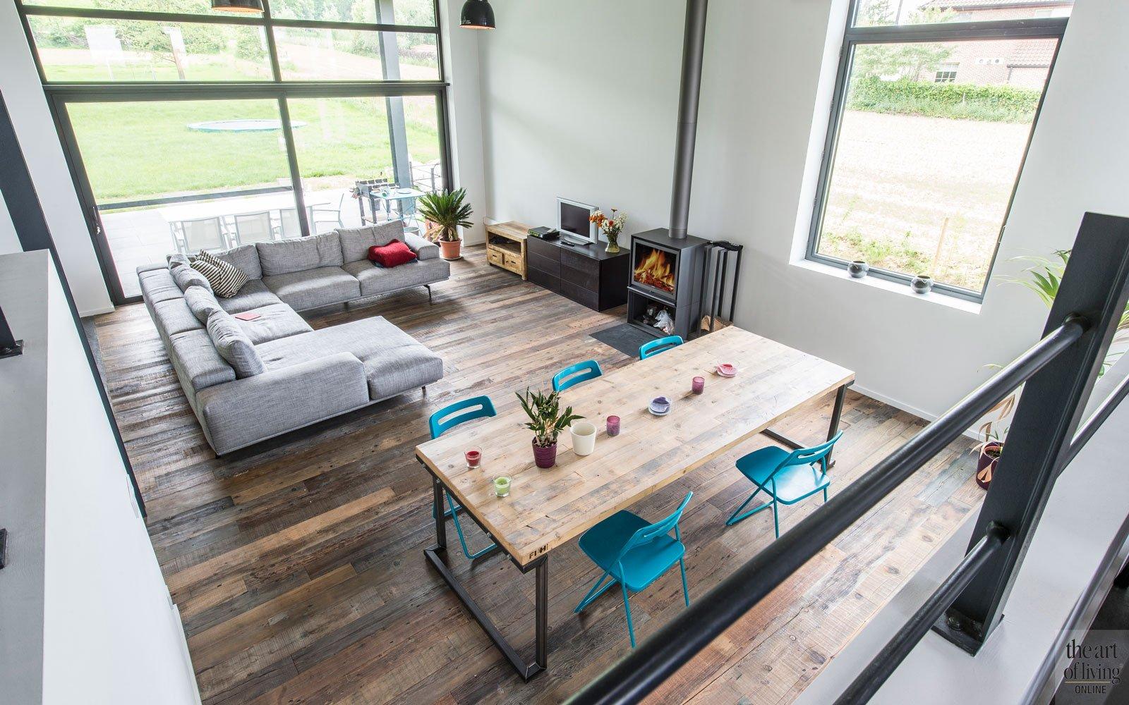 Architect Kleine Woning : Industriële woning bvv architecten the art of living be