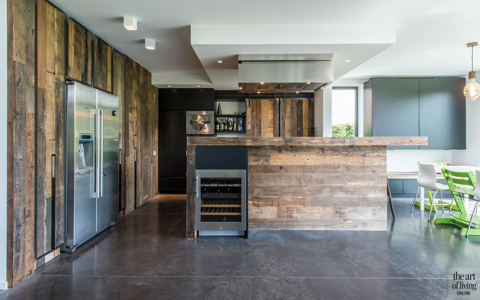 Industriële woning | BVV Architecten - The Art of Living (BE)