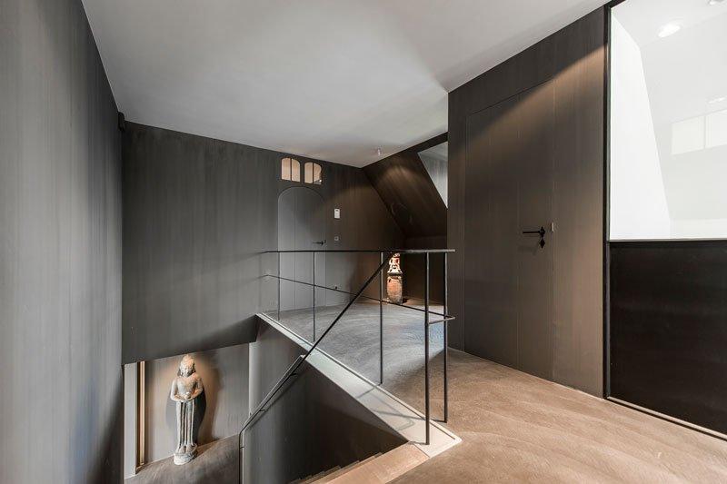Oase van Groen, Pieter Vlassak, stalen klinken, deurbeslag, dauby, luxe deurbeslag, exclusieve railing, the art of living