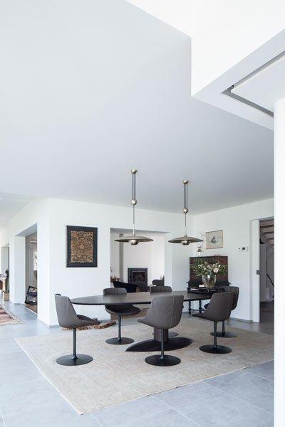 Woonkamer, ruimtelijk, lichtinval, strak schilderwerk, G.M.T. interieur- en schilderwerken bvba, renovatie, p.ed architecten