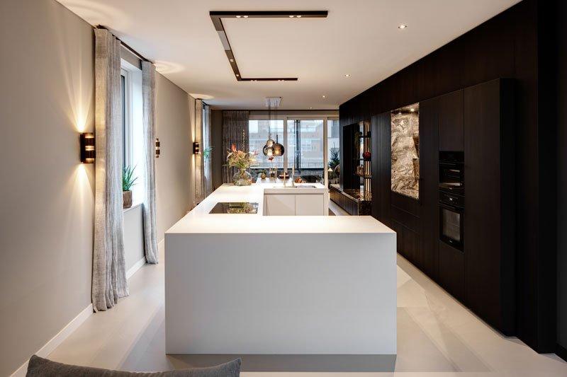 Culimaat, witte design keuken, keukens