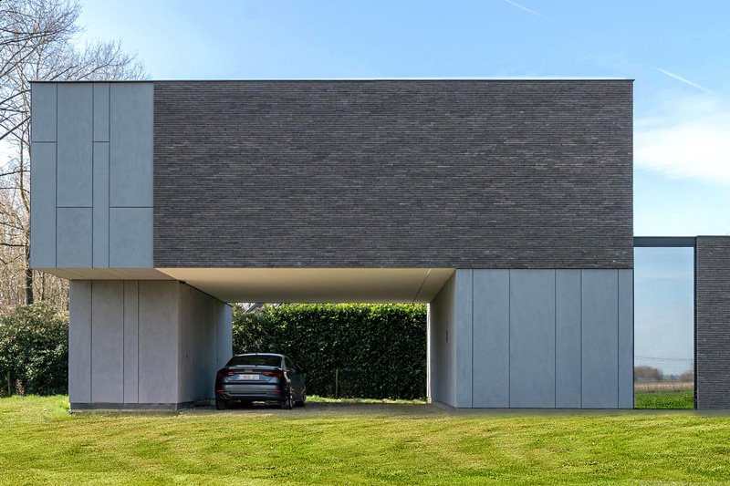 Moderne nieuwbouw | Hulpia Architecten