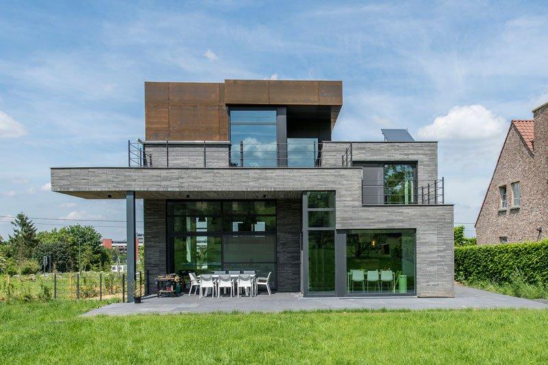 Industriële villa | BVV Architecten