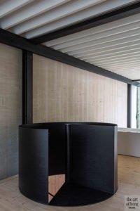 Icoon Architecten, wenteltrap, bovenverdieping, staal, badkamer, bad