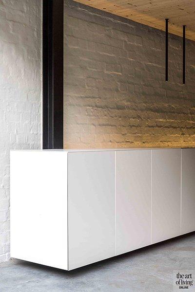 Keuken, strak, modern, open