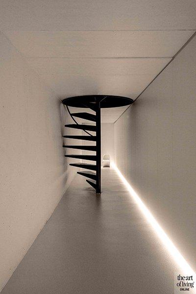 Icoon Architecten, wenteltrap, woning, kelder