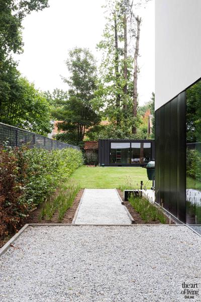 Halfopen woning the art of living be for Dat architecten