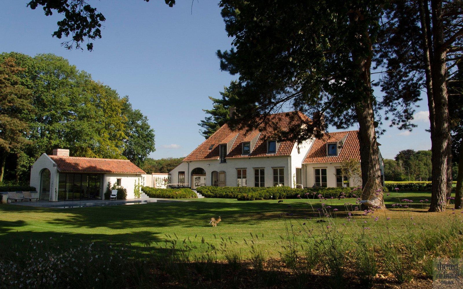 Architectenbureau Bart Moors, woning, prachtige omgeving, discrete tuin, Frederiek Snaet