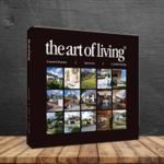 hardcover boek the art of living