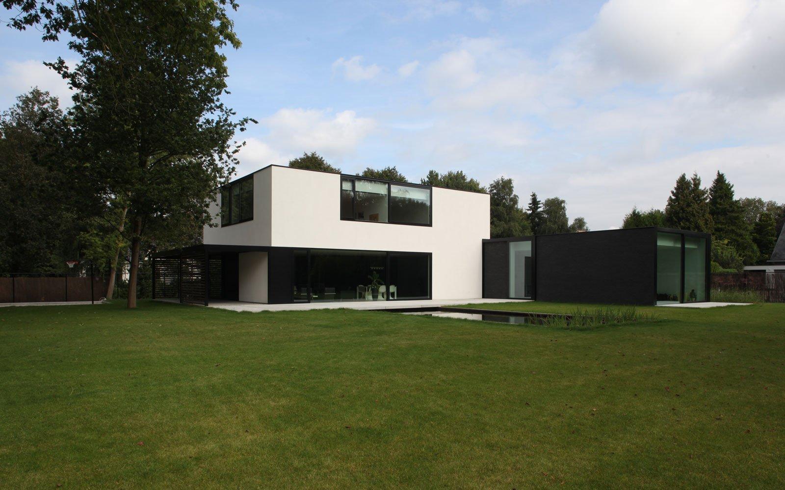 Zwemvijver, tuinarchitectuur, tuin, Ecovie, Kantoorgebouw | icoon.be architecten