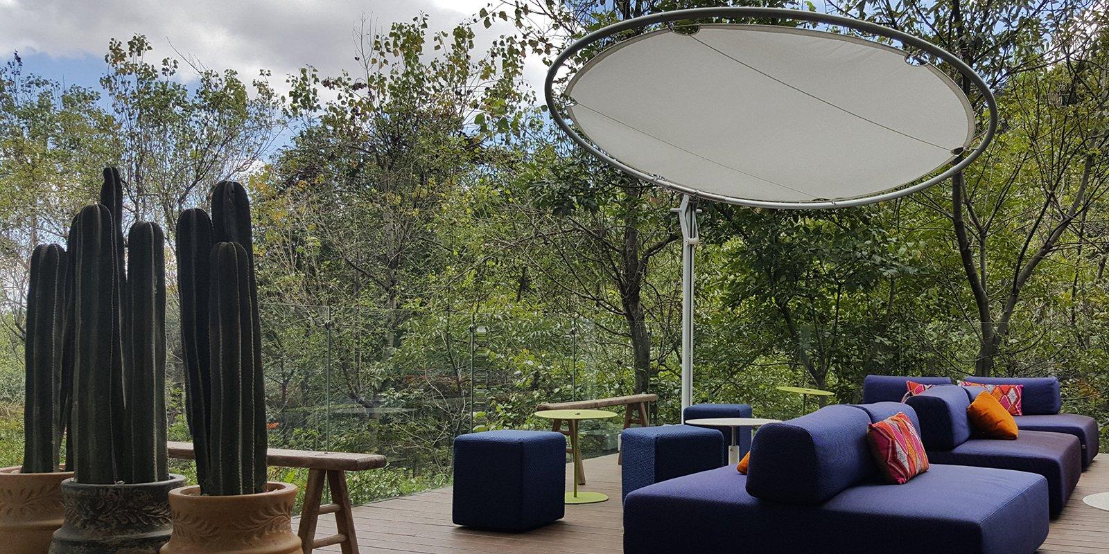 Umbrosa, schaduwparasollen, parasol, internationaal, Belgisch, Design, Umbrosa Parasols