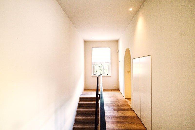 Trap, houten trap, houten vloer, bovenverdieping, Amerikaanse stijl