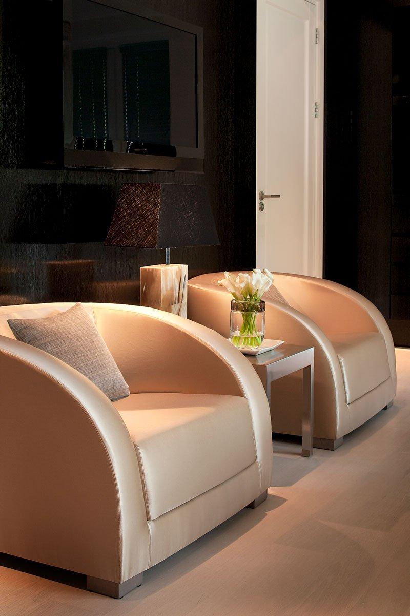 Wellnessruimte, wellness, souterrain, lounge, riante villa, leeflang Architectuur