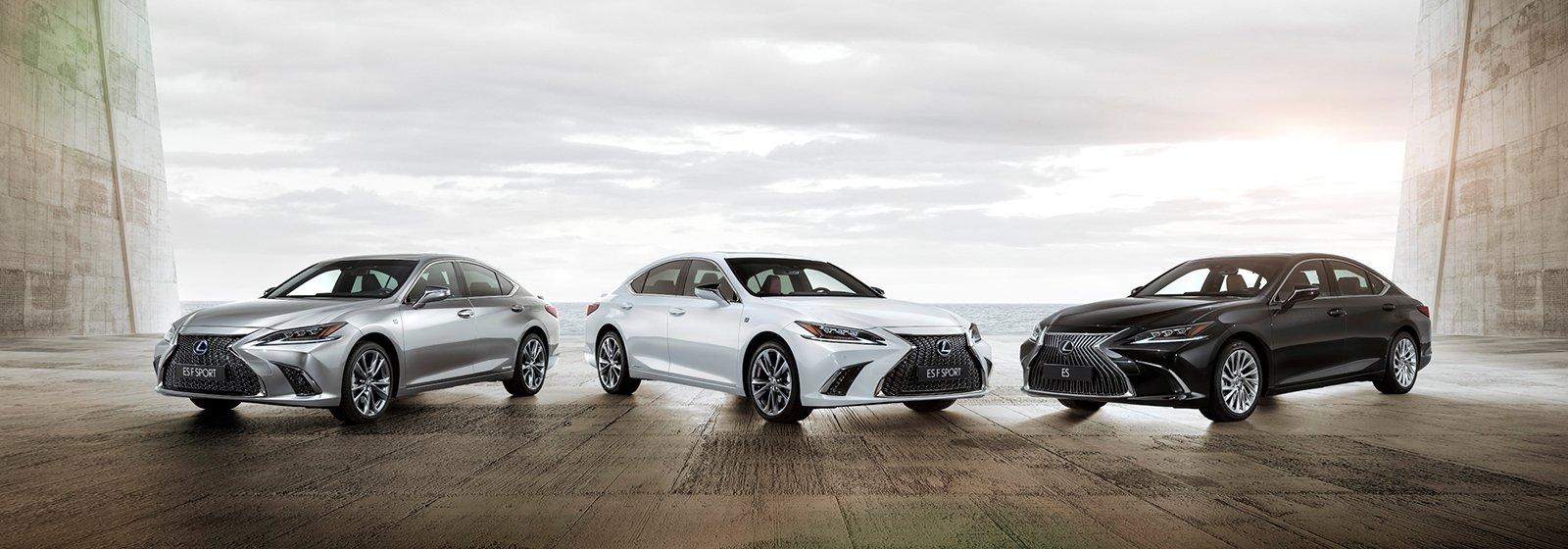 Lexus ES introductie