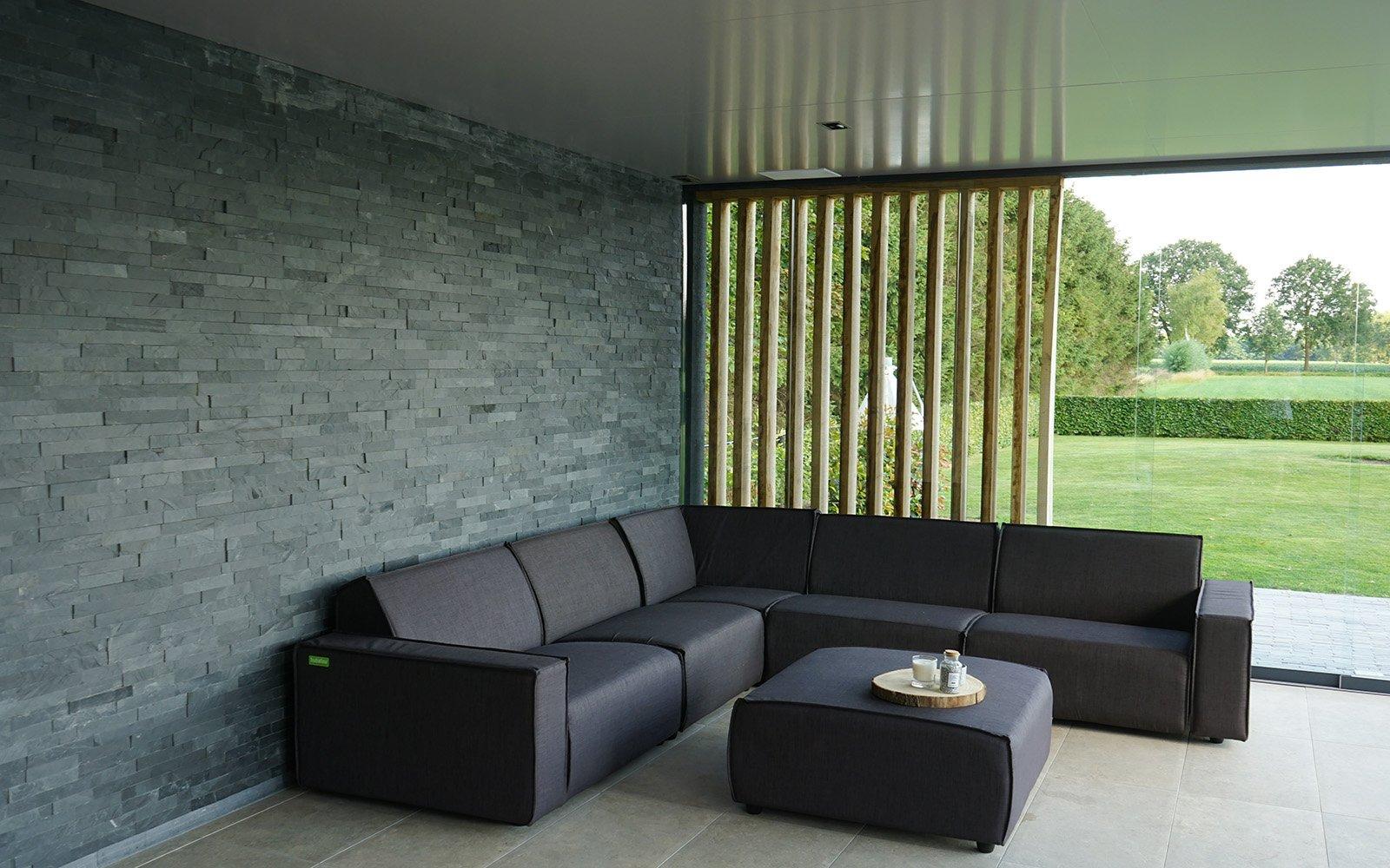 Tuinmeubelen in Poolhouse van je dromen, relax outdoor