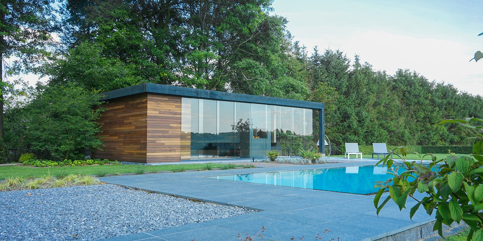 Poolhouse van je dromen, relax outdoor