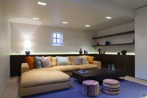 Harmonie, Knokke, Glenn Reynaert, Binnenkijker, kelder, lounge, homecinema