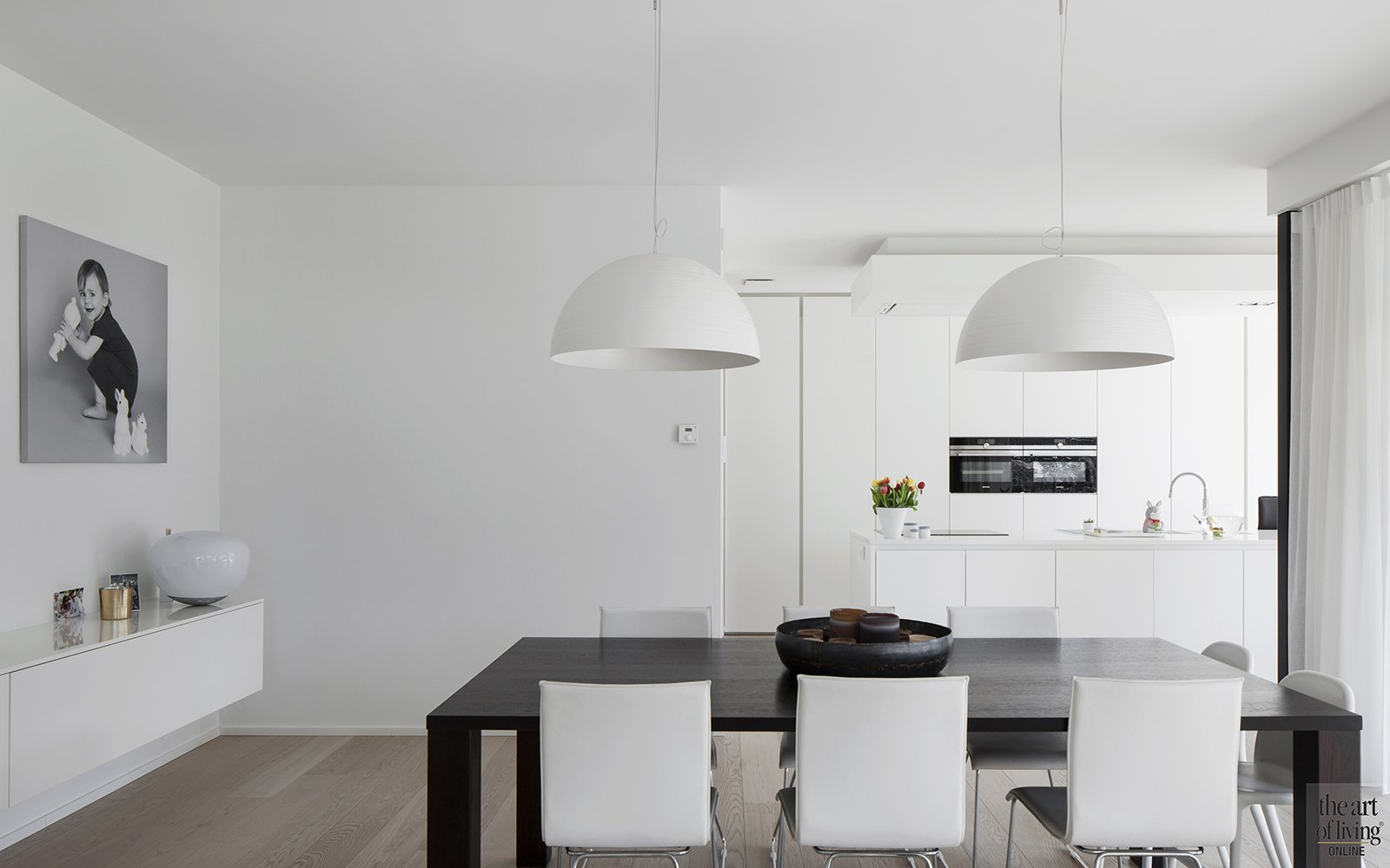Architectenburo Berkein, keuken, open haard, strak, modern, hedendaags, exclusief, The Art of Living Online