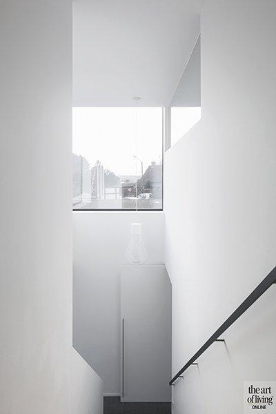 Minimalistische vide, Villabouwer Dumobil, Architect Architectenburo Berkein, Interieurarchitect Philip Simoen