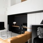 Marmer, bovenverdieping, bank, televisie, The Art of Living Online